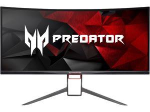 "Acer Predator X34 Pbmiphzx Black 34"" 4ms (GTG) 60Hz/120Hz, Curved 1900R, 3440 x 1440, NVIDIA G-SYNC Ultra-wide Gaming Monitor, ZeroFrame Design, VESA Mountable, Tilt/Swivel/Height Adjustable"