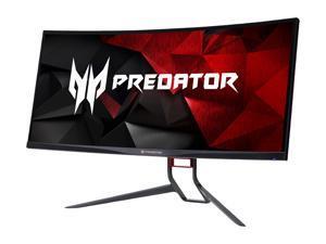 "Acer Predator X34 Pbmiphzx Black 34"" 4ms (GTG) 60Hz/120Hz, Curved 1900R, 3440 x 1440, NVIDIA G-SYNC Ultra-wide Gaming Monitor, ZeroFrame Design, VESA Mountable, Tilt/Swivel/Height Adjustable"