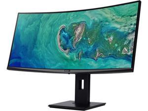 "Acer ED347CKR bmidphzx 34"" UW-QHD 3440 x 1440 100Hz 4ms HDMI, DisplayPort, DVI AMD FreeSync Built-in Speakers USB Hub UltraWide LED Backlit Curved Gaming Monitor"