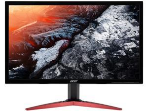 "Acer KG241Q Sbiip UM.UX1AA.S02 24"" (Actual size 23.6"") Full HD 1920 x 1080 1ms (GTG), Up to 0.5ms (GTG) 144 Hz (Overclock to 165 Hz) 2 x HDMI, DisplayPort AMD Radeon FreeSync Gaming Monitor"