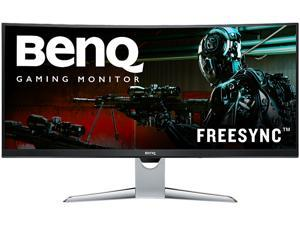 "BenQ XR Series EX3501R Gray 35"" Ultrawide LED  FreeSync 1800R Curved Monitor 100Hz 4ms (GTG) HDR10 DisplayPort HDMI USB-C"