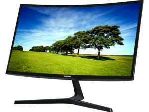 "SAMSUNG 398 Series C27F398 Black High Gloss Curved 27"" 4ms 1920 x 1080 Widescreen LED/ LCD Monitor, Flicker Free Technology 250 cd/m2 Brightness (3000:1) 60 Hz HDMI / Display Port"