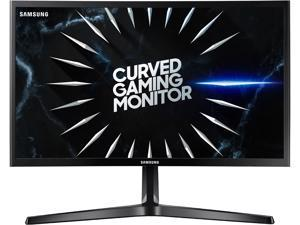"Samsung C24RG50 24"" 1920 x 1080 Full HD Resolution 4ms 144Hz HDMI DisplayPort Eye-Saver Mode Flicker-Free Technology LED Backlit Curved Gaming Monitor"