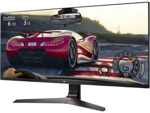 "LG 34UM69G-B 34"" FreeSync IPS WFHD Ultrawide Gaming Monitor, 2560 x 1080, 21:9, 5ms, 250 cd/m2, HDMI, USB-C, DisplayPort, Tilt, Height Adjustable, VESA Mountable"