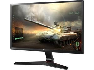 "LG 24MP59G 23.8"" Full HD Black IPS FreeSync Gaming Monitor, 1920 x 1080, 16:9 Aspect Ratio, 75 Hz Refresh Rate, 5ms GTG / 1ms MBR Response Time, On-screen Control, 4 Screen Split, HDMI, DP, D-Sub"