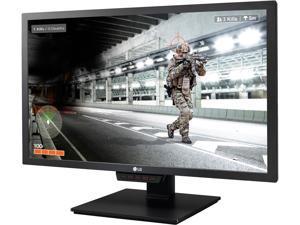 "LG 24GM79G-B 24"" Black FreeSync Gaming Monitor, 1920 x 1080 144 Hz Refresh Rate, 1ms (MBR), 350 cd/m2, HDMI, DisplayPort, USB 3.0, Height Adjustable, On-screen Control"