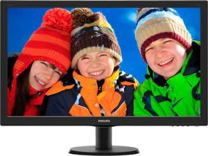 "Philips 273V5LHSB 27"" monitor, Full HD 1920x1080, 1ms response time, 10M:1 SmartContrast, HDMI/VGA, Audio out, VESA ..."