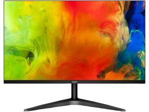 "AOC 27B1H 27"" Full HD 1920x1080 monitor, 3-sided frameless, IPS Panel, HDMI/VGA, AOC Flicker-Free, ClearVision, 20M:1 Contrast"