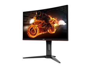 "AOC Gaming C24G1 24"" curved gaming monitor, Full HD 1920x1080, 1500R curved VA panel, 1ms (MPRT), AMD FreeSync, 144Hz, 3-sided frameless, Height adjustable, DisplayPort/HDMI/VGA, VESA compatible"
