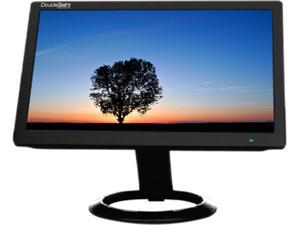 DoubleSight DS-10UT Black LCD Monitor Resistive Touch
