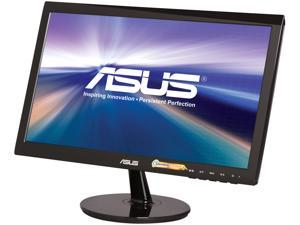 "ASUS VS Series VS197D-P Black 18.5"" 5ms  LED Backlight Widescreen LCD Monitor"