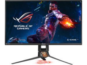 """ASUS ROG Swift PG258Q Gray 24.5"""" 1ms (GTG) 240 Hz NVIDIA G-Sync Frameless Gaming Monitor, 400 cd/m2 1,000:1, VESA Mountable, Height, Tilt, Swivel and Pivot Adjustable, HDMI, USB 3.0"""