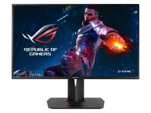 "ASUS ROG Swift PG278QR Black 27"" 1ms (GTG) 165Hz WQHD 2560x1440 NVIDIA G-Sync Gaming Monitor, VESA Mountable, USB 3.0, Tilt, Swivel, Pivot, Height Adjustable"