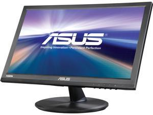 """ASUS VT168H Black 15.6"""" 10ms Widescreen Touch Monitor, 10-Point Touch Capacity, VESA Mountable, HDMI, VGA"""