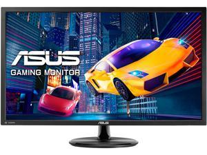 "ASUS VP28UQG 28"" Ultra HD 3840 x 2160 4K Resolution 1ms 2xHDMI DisplayPort FreeSync Technology Asus Eye Care with Ultra Low-Blue Light Flicker-Free Technology Widescreen Backlit LED LCD Monitor"