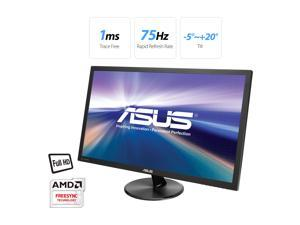 "ASUS VP247QG 24"" (Actual size 23.6"") Full HD 1920x1080 1ms DP HDMI VGA Adaptive Sync/FreeSync Eye Care Monitor"