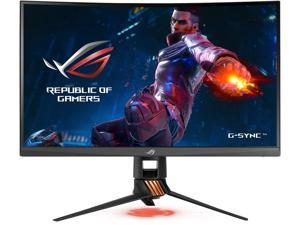 """ASUS ROG Swift PG27VQ 27"""" 1440p 1ms 165Hz DP HDMI G-SYNC Aura Sync Curved Gaming Monitor with Eye Care"""