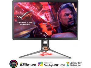 "ASUS ROG Swift PG27UQ 27"" 4K UHD 144Hz DP HDMI G-SYNC HDR Aura Sync Gaming Monitor with Eye Care"