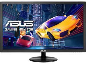 "ASUS VP228QG 22"" (Actual size 21.5"") Full HD 1920x1080 1ms 75Hz DisplayPort HDMI VGA Adaptive Sync/FreeSync Asus Eye Care Ultra Low-Blue Light Flicker-Free Backlit LED Gaming Monitor"