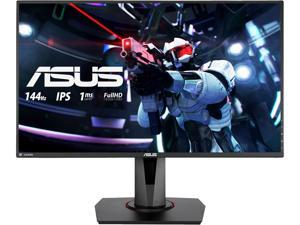 "ASUS VG279Q 27"" Full HD 1920 x 1080 1ms MPRT 144 Hz DVI, HDMI, DisplayPort FreeSync (AMD Adaptive Sync) Built-in Speakers Height Adjustable Gaming Monitor"
