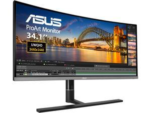 "ASUS ProArt PA34VC 34"" Curved Monitor UWQHD 100Hz HDR-10 IPS Eye Care, Thunderbolt 3, DisplayPort 1.2, HDMI 2.0b"