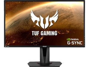 "ASUS TUF Gaming VG27AQ 27"" 2560x1440 WQHD 2K Resolution 155Hz 1ms 2xHDMI DisplayPort Adaptive-Sync G-SYNC Compatible Built-in Speakers Widescreen IPS HDR10 Gaming Monitor"