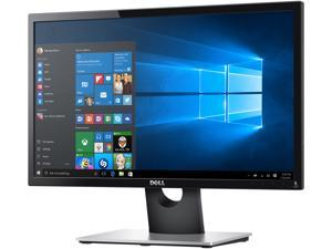 "Dell SE2216HV Black 22"" (21.5"" viewable) 1920 x 1080 60 HZ LCD Monitor with Tilt Adjustment, 250 cd/m2 DCR 8,000,000:1 (3000:1), D-Sub"
