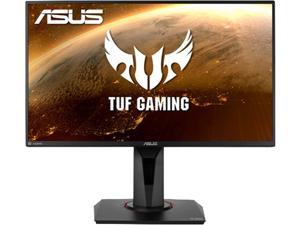 "ASUS TUF Gaming 24.5"" 1080P HDR Monitor VG258QM -  Full HD, 280Hz (Supports 144Hz), 0.5ms, Extreme Low Motion Blur Sync, G-SYNC Compatible, DisplayHDR 400, Speaker, DisplayPort HDMI, Height Adjustable"
