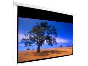 "MUSTANG 135"" HDTV(16:9) Motorized Electric Projection Screen, Matte White SC-E135D169"