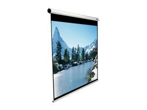 "Elitescreens 80"" NTSC/Video(4:3) Manual Manual Ceiling/Wall Mount Manual Pull Down Projection Screen (80"" 4:3 AR) (MaxWhite) M80NWV"