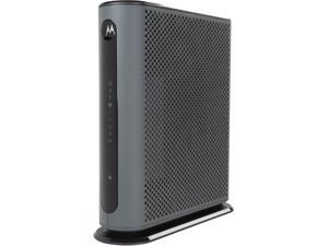 Motorola MG7315 8x4 343 Mbps DOCSIS 3.0 Cable Modem Plus N450 Wireless Router Certified by Comcast XFINITY, Time Warner Cable, and Other Service Providers