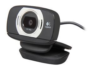 Logitech HD Webcam C615 with Fold-and-Go Design and 360-Degree Swivel