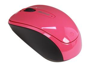 Microsoft L2 Mobile Mouse 3500 GMF 00278 Magenta Pink USB RF Wireless BlueTrack