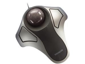 Kensington Orbit K64327F Silver 2 Buttons Scroll Ball USB Wired Optical Trackball