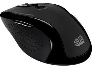 Adesso iMouseG25 2.4GHz RF Wireless ergonomic Laser scroll mouse