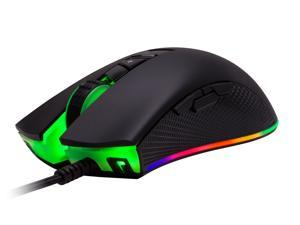 Rosewill NEON M60 RGB Gaming Mouse, 12000 dpi, Ergonomic Optical Wired Gaming Mouse