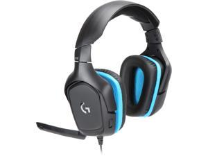 Logitech G432 3.5mm/ USB Connector Circumaural 7.1 Surround Sound Wired Gaming Headset