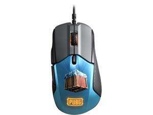 SteelSeries Rival 310 PUBG Edition 62435 Black/Blue 6 Buttons USB Wired Optical Gaming Mouse