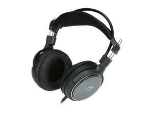 JVC Black HA-RX700 3.5mm/ 6.3mm Connector Circumaural Full-Size Headphone
