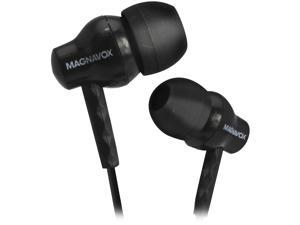 MAGNAVOX Black MHP4851BK 3.5mm Connector In Ear Silicon Earbuds