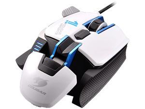 Cougar 700M eSports White MOC700WBE 8200 dpi Aluminum Performance Gaming Mouse, 32 Bit ARM Processor 512KB On-Board Memory & UIX Interface System