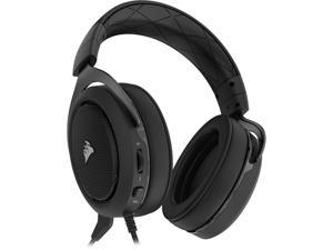 Corsair HS50 STEREO Stereo Gaming Headset, Carbon