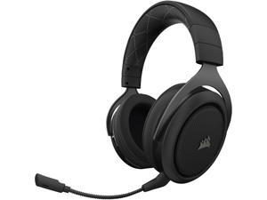 Corsair HS70 Wireless Gaming Headset with 7.1 Surround Sound, Carbon