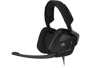 Corsair VOID ELITE SURROUND 3.5mm/ USB Connector Circumaural Premium Gaming Headset with 7.1 Surround Sound, Carbon