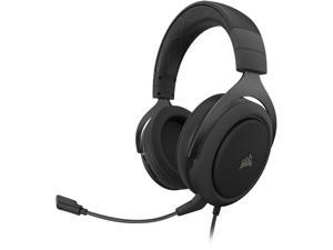 Corsair HS60 PRO SURROUND 3.5mm/ USB Connector Circumaural Gaming Headset, Carbon
