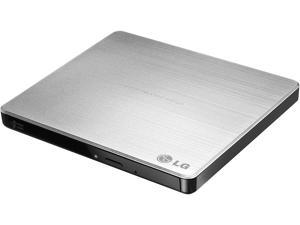 LG Ultra Slim External DVDRW With Mac & Surface Compatible Model GP60NS50