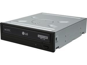 LG Black 12X BD-ROM 16X DVD-ROM 48X CD-ROM SATA Internal Blu-ray Burner