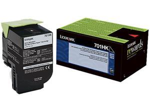 Lexmark 70C1HK0 High Yield Return Program Toner Cartridge - Black