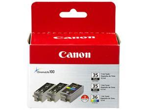 Canon PGI-35/CLI-36 Ink Cartridge - Combo Pack - Black/Color