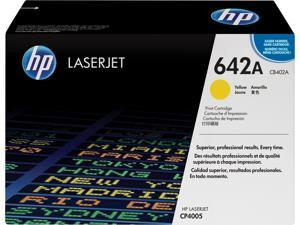 HP 642A LaserJet Toner Cartridge - Yellow